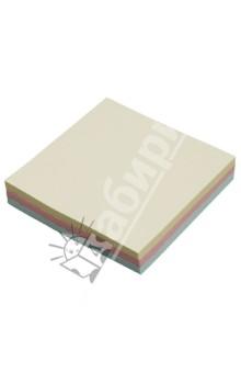 Клейкая бумага для заметок. 76х76 мм. 3 пастельных цвета (PFA1092) Proff
