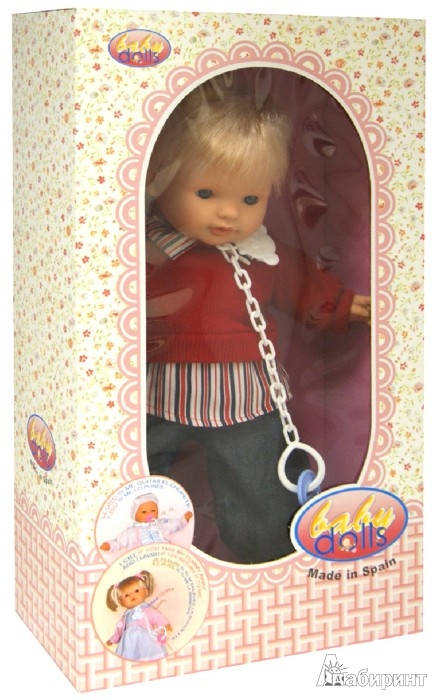 Иллюстрация 1 из 3 для Кукла TINO в красной кофточке ,интерактивная (238839) | Лабиринт - игрушки. Источник: Лабиринт