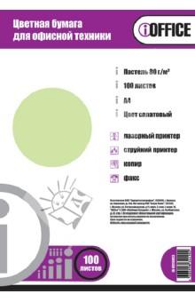 """Бумага цветная """"iOffice"""" A4, 100 листов , салатовая пастельная (IO-8010003) Proff"""