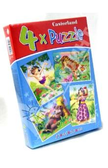 "Puzzle-30*40*50*60 ""Книга джунглей"" (4 в 1) (В-04157-NEW)"
