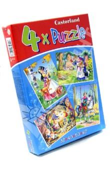 """Puzzle-30*40*50*60 """"Белоснежка и 7 гномов"""" (4 в 1) (В-04188-NEW)"""