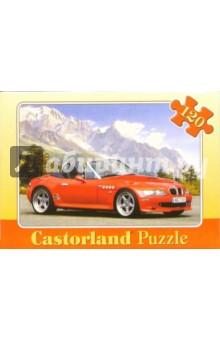Puzzle-120. MIDI. Машина-2 (красная) (В-12251)