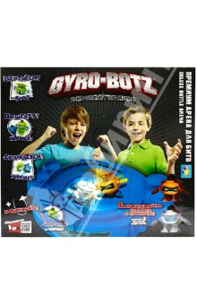 Gyro-Botz арена для битв + 2 робота-бойца (Т55615)