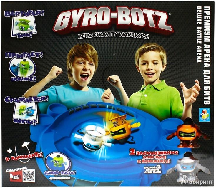 Иллюстрация 1 из 2 для Gyro-Botz арена для битв + 2 робота-бойца (Т55615) | Лабиринт - игрушки. Источник: Лабиринт