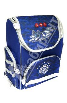 Рюкзак школьный (27744)Ранцы и рюкзаки для начальной школы<br>Школьный ранец имеет:<br>- 1 большое отделение на молнии с внутренними мягкими перегородками.<br>- 2 накладных боковых кармана на молнии + 1 накладной карман спереди на молнии. <br>- Ранец имеет жесткий каркас, что предохраняет его от деформации.<br>- Ручку для переноски ранца в руках.<br>Длина лямок регулируется.<br>Светоотражающие вставки.<br>Расцветка: камуфляж синий.<br>Сделано в Китае.<br>