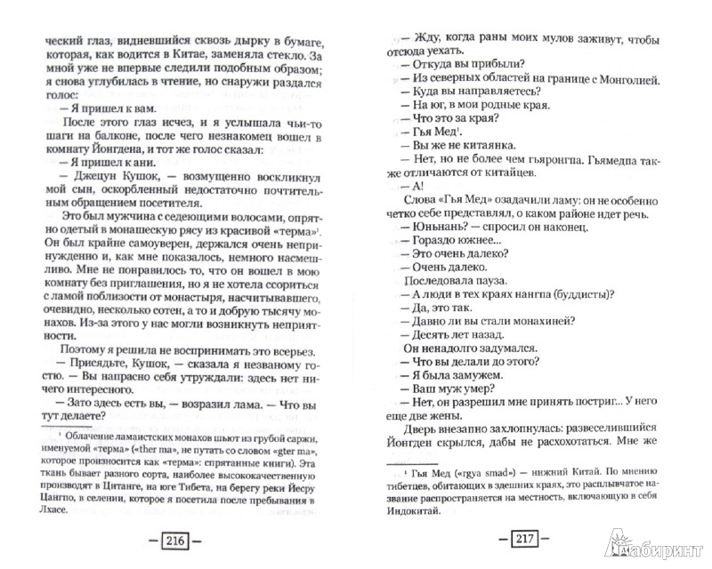 Иллюстрация 1 из 4 для В краю благородных разбойников - Александра Давид-Ниэль | Лабиринт - книги. Источник: Лабиринт
