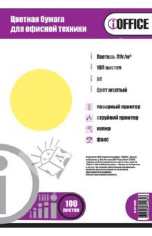 """Бумага цветная А4 """"iOffice"""" (100 листов, цвет: пастельный желтый) (IO-8010002) Proff"""