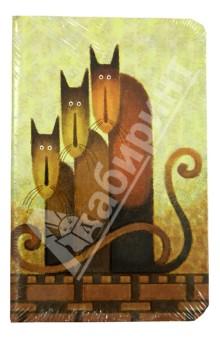 """Бизнес-блокнот """"Cats"""", Modo Arte А6- (9056E)"""
