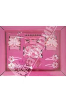 """Подарочный набор аксессуаров для волос """"Модница"""", розовый (40257)"""