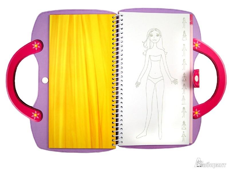 Иллюстрация 1 из 7 для Самые красивые Принцессы. Рисуем и наряжаем | Лабиринт - игрушки. Источник: Лабиринт