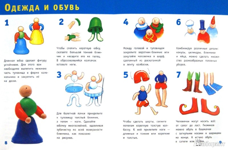Иллюстрация 1 из 18 для Пластилиновые человечки - Ольга Петрова | Лабиринт - книги. Источник: Лабиринт