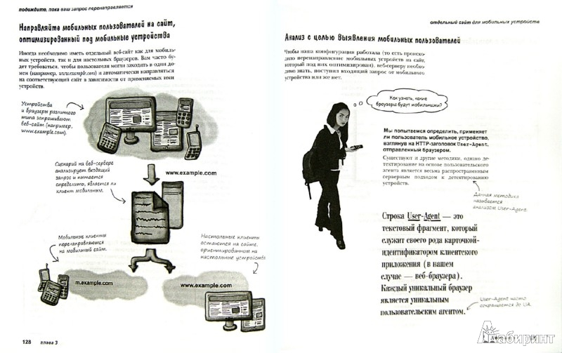 Иллюстрация 1 из 7 для Разработка веб-сайтов для мобильных устройств - Гарднер, Григсби | Лабиринт - книги. Источник: Лабиринт