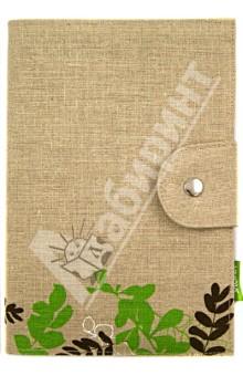 Блокнот с хлопко-льняной обложкой А5 (070024)