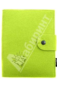 Бизнес-блокнот на спирали А5, зеленый (070042)Блокноты большие Клетка<br>Бизнес-блокнот на спирали в мягкой обложке из искусственного войлока.<br>Цвет обложки: зеленый.<br>Бумага: офсет.<br>Крепление листов: спираль.<br>Разлиновка: клетка.<br>Количество листов: 120.<br>Формат: А5.<br>Сделано в Китае.<br>