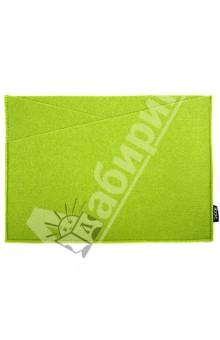 Папка-уголок, зеленая (070046)Папки-уголки<br>Папка-уголок<br>Формат: А4<br>Размер: 345х245 мм<br>Два отделения<br>Материал: искусственный войлок<br>Цвет: зеленый<br>Сделано в Китае<br>