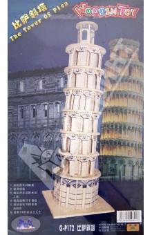 Настольная игра Пизанская Башня. Достопримечательности. Деревянный пазл 3D