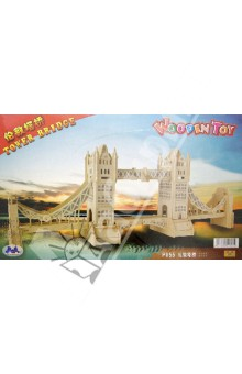 Настольная игра Тауэрский Мост. 3D Деревянные Пазлы. Достопримечательности
