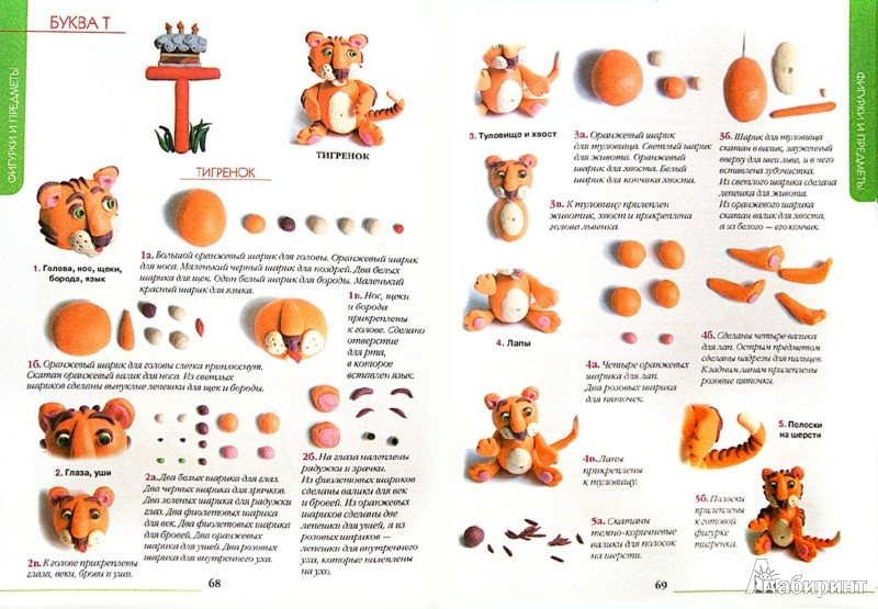 Иллюстрация 1 из 23 для Все секреты пластилина. Развиваем моторику рук - Адамчик, Конева | Лабиринт - книги. Источник: Лабиринт