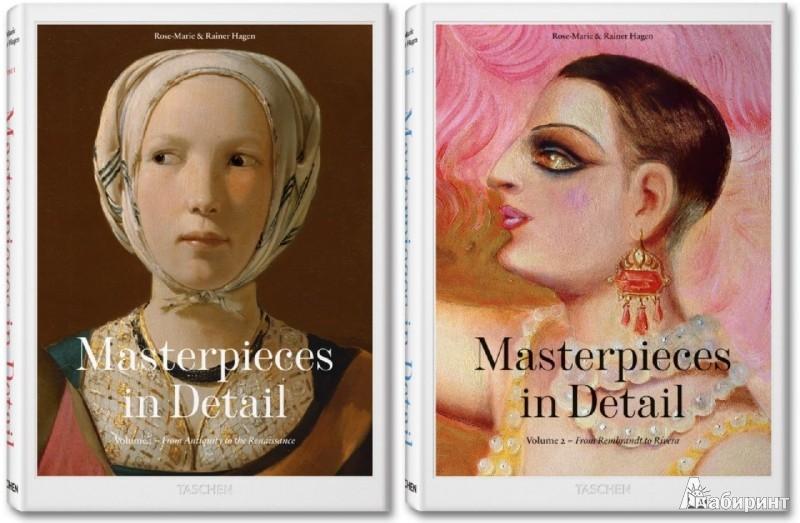 Иллюстрация 1 из 6 для Masterpieces in Detail. 2 volumes - Hagen, Hagen | Лабиринт - книги. Источник: Лабиринт