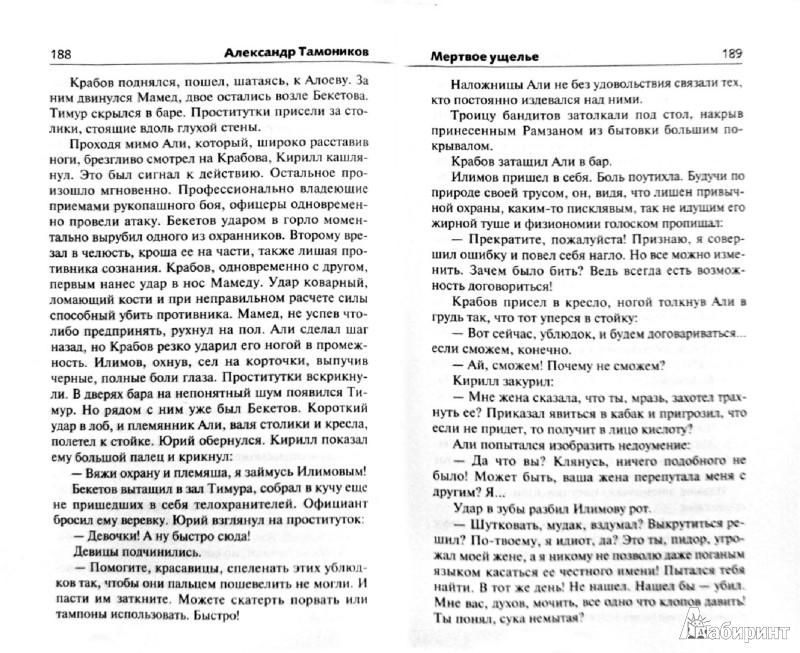 Иллюстрация 1 из 7 для Мертвое ущелье - Александр Тамоников   Лабиринт - книги. Источник: Лабиринт