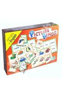 Настольная игра GAMES: PICTURE BINGO (Level: A1) Набор из 136 карточек