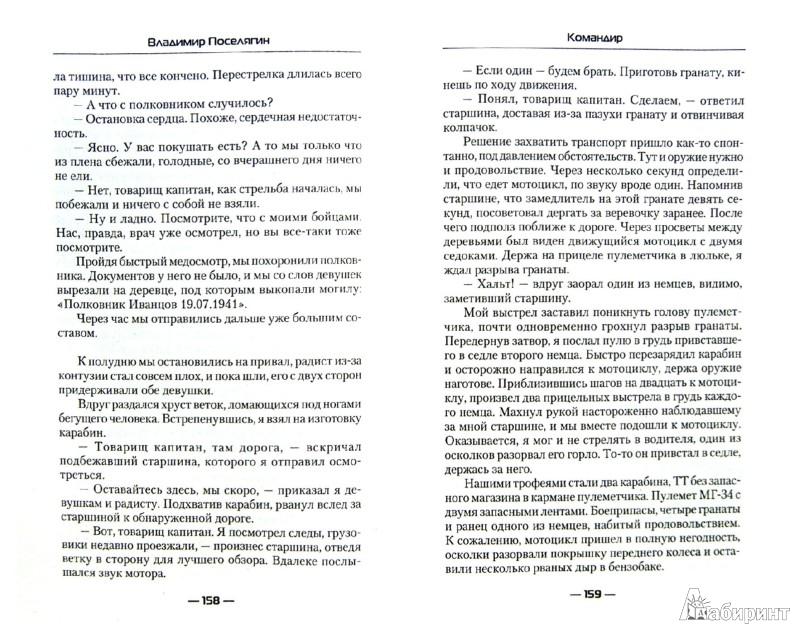 Иллюстрация 1 из 6 для Командир - Владимир Поселягин | Лабиринт - книги. Источник: Лабиринт
