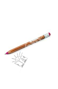 Ручка шариковая КАРАНДАШ розовый (03960)