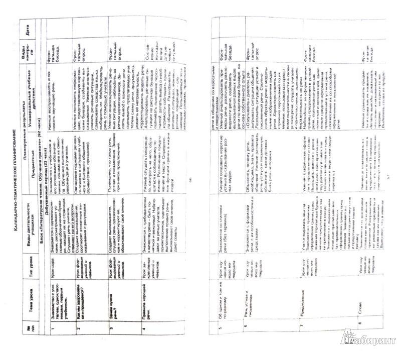 Тематическое планирование 4 класс