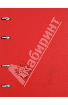 Тетрадь 120 листов, клетка Froggy с кольцевым механизмом (№302/red)Тетради многопредметные, со сменными блоками<br>Тетрадь со сменным блоком на кольцах.<br>120 листов<br>Формат: А5<br>Тип бумаги: офсет<br>Разлиновка: клетка<br>Сделано в Беларуси.<br>