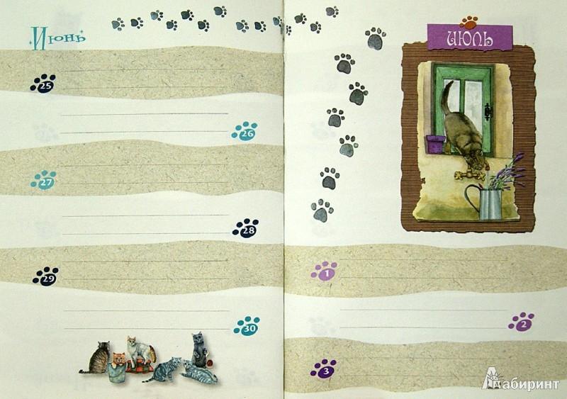 Иллюстрация 1 из 27 для Книга для записи важных дат. Кошки   Лабиринт - канцтовы. Источник: Лабиринт