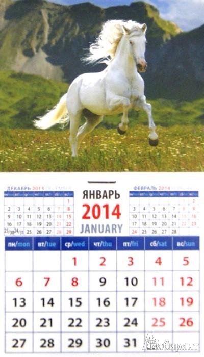 Иллюстрация 1 из 10 для Календарь на 2014 год