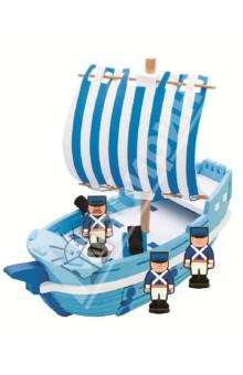 3D пазл. Мягкий конструктор, 29  деталей Военный корабль (М5951)Конструкторы из пластмассы и мягкого пластика<br>3D пазл (мягкий конструктор)<br>Этот безопасный конструктор обязательно порадует Вашего малыша!<br>Материал: вспененный полиэтилен.<br>Упаковка: картонная коробка.<br>Для детей от 4 лет.<br>Сделано в Тайване.<br>