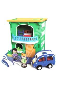 3D пазл. Конструктор мягкий, 93 детали Городской домик (M5912)Конструкторы из пластмассы и мягкого пластика<br>3D пазл (мягкий конструктор)<br>Этот безопасный конструктор обязательно порадует Вашего малыша!<br>Материал: вспененный полиэтилен.<br>Упаковка: картонная коробка.<br>Для детей от 4 лет.<br>Сделано в Тайване.<br>