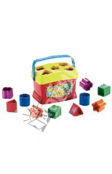 Первые кубики малыша Fisher (7167K)Кубики логические<br>10 цветных кубиков с чемоданчиком-сортером.<br>Развивают мелкую моторику и координацию.<br>Материал: пластмасса. <br>Для детей от 6 месяцев.<br>Сделано в Китае.<br>