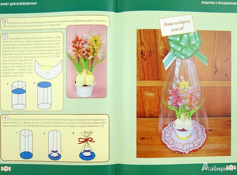 Пошаговая инструкция букет из конфет с