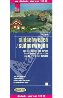 Sudschweden. Sudnorwegen. 1:875 000Атласы и карты мира<br>This map appears in the map series world mapping project ™ in travel expertise. Characteristic is the high-quality, clear and modern cartographic representation.<br>- Contour lines with elevation<br>- Coloured elevation levels<br>- Classified road network with distances<br>- Places of interest<br>- Detailed local index<br>- GPS-compatible<br>- With graticule<br>- This map covers together with the map `Finland and Northern Scandinavia` from the entire territory of Norway, Sweden and Finland.<br>