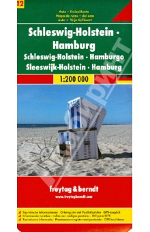Schleswig-Holstein. Hamburg. 1:200 000Атласы и карты мира<br>Explore England and Wales with this Freytag &amp;amp; Berndt double-sided road map. The best way to plan your trip, prepare your itinerary, and to travel independently in these two countries of Great Britain.<br>Place name index and inset maps of London in a booklet. Touristic information: airports, places of interest, view-points, lighthouses, castles, manor-houses, religious buildings, archaeological sites, accommodation, camping sites, monuments, golf courses. The legend is in English, French, German, Italian, Dutch, Spanish, Czech, Slovak, Hungarian and Polish.<br>