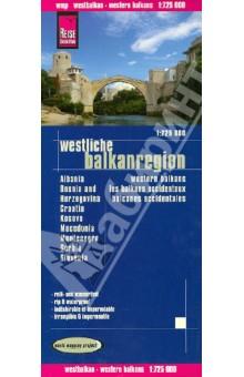 Westliche Balkanregion, 1:725 000