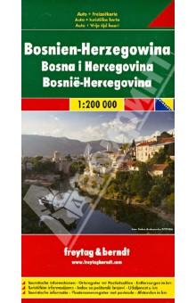 Bosnia-Hercegovina. 1:200 000