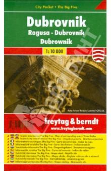Dubrovnik. 1:10 000. City pocket + The Big Five
