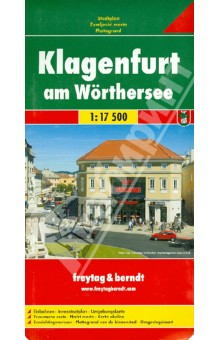 Klagenfurt am Worthersee. 1: 17 500Атласы и карты мира<br>These city maps are produced by one of Europe s leading map publishers. They vary in scale by city but include a wealth of detail on tourist attractions, transportation and culture.<br>