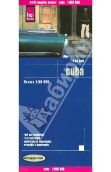 Куба. Карта. 1: 850 000
