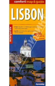 Lisbon. 1:17 500Атласы и карты мира<br>The unique combination of maps and guide. All necessary information for a short trip. Practically, concisely and to the point. What to see and how to get there. Handy format, indestructible formula (to be published in full laminated). For the busy and appreciate the simplicity and functionality.<br>- convenient map with rich content, conveniently for the tourist scale ( 1:17 500 , center: 1:10000) in addition: schematic subway and street index<br>- property descriptions and addresses of dozens of the most interesting places to visit (all numbered consecutively, and the numbers marked on the map)<br>- useful practical information: public transport, weather, phone numbers<br>- advice on where to eat and drink, where to go shopping<br>- calendar of interesting events<br>