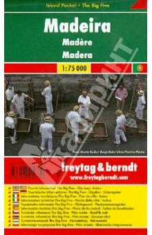 Madeira. 1:75 000. City pocket + The Big Five