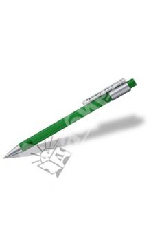 Карандаш механический Graphite 777 0,5 мм, зеленый (77705-5)Карандаши автоматические и цанговые<br>Механический карандаш для письма и рисования;<br>Удобный пластиковый клип;<br>Матовый прозрачный корпус, с антискользящим покрытием;<br>Сверхбольшой ластик в цвет корпуса;<br>Удобная система установки нового грифеля;<br>2 дополнительных грифеля внутри карандаша.<br>Сделано в Германии.<br>