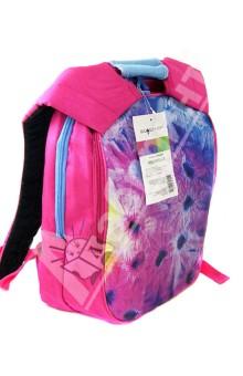 Рюкзак AQUARELLE. С отделением для ноутбука (830553)Рюкзаки школьные<br>Рюкзак с отделением для ноутбука<br>2 больших отделения на молнии<br>Удобная спинка и лямки<br>Сделано в Китае<br>