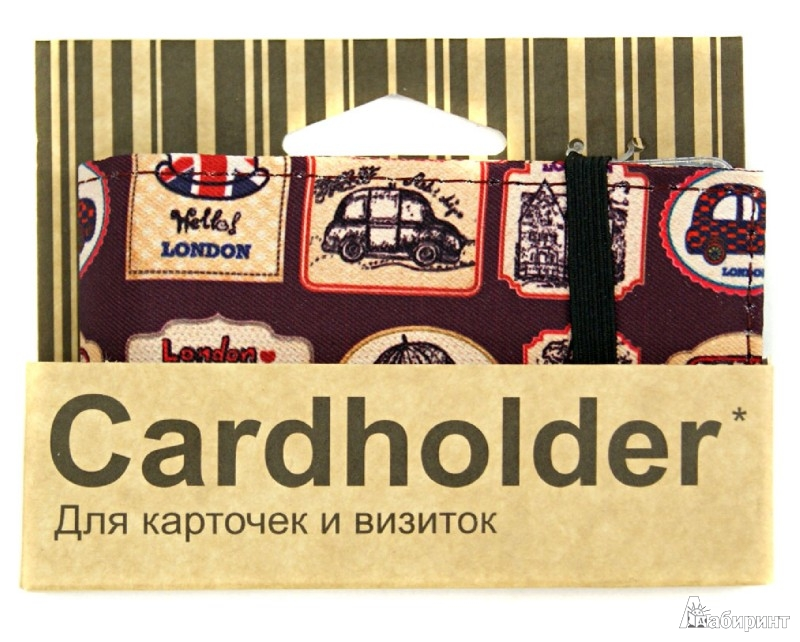 Иллюстрация 1 из 3 для Визитница, держатель для карточек (ch 1.144) | Лабиринт - канцтовы. Источник: Лабиринт