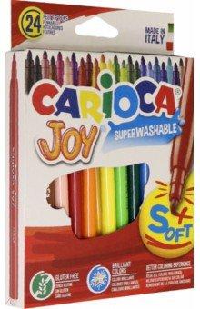 Фломастеры 24 цвета CARIOCA (40615)