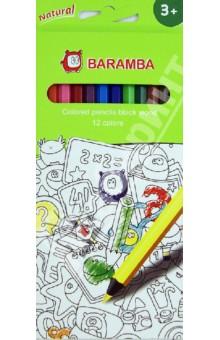 Карандаши 12 цветов из черного дерева (B33412)Цветные карандаши 12 цветов (9—14)<br>Цветные карандаши из черного дерева.<br>- 12 высококачественных карандашей из черного дерева.<br>- уникальный ударопрочный грифель, диаметр 3 мм<br>- яркие насыщенные цвета<br>- проводят очень мягкие, яркие линии<br>- легко стираются<br>- при производстве продукции использовалось только сертифицированное дерево.<br>Упаковка6 блистер.<br>Для детей от 3 лет.<br>Сделано в Турции.<br>