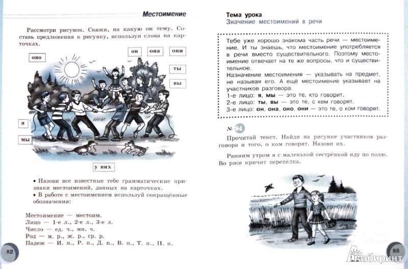 Русский Язык 1 Класс Программа 8 Вида
